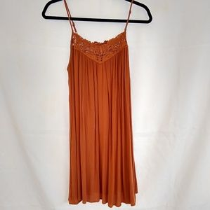 Forever 21 Contemporary Burnt Orange Dress